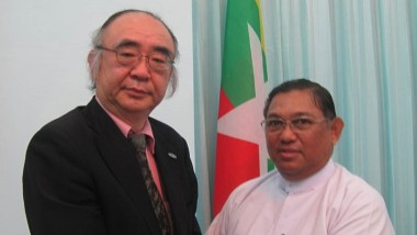 Executive Director of ERIA Calls on Union Minister of Foreign Affairs of Myanmar