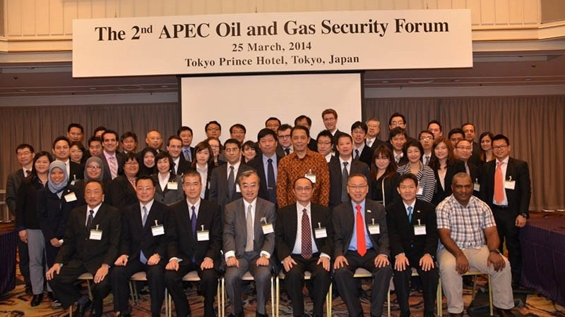 The 2nd APEC Oil and Gas Security Forum, 25 March 2014, Tokyo Prince Hotel, Tokyo, Japan