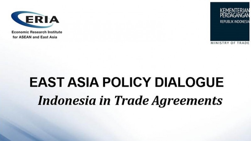 East Asia Policy Dialogue  Jakarta, 12 September 2014 Indonesia in Trade Agreements