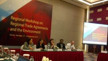 ERIA Contributes to MOIT, Viet Nam - OECD Workshop on Regional Free Trade Agreements and the Environment