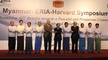 Joint Myanmar-ERIA-Harvard Symposium Acknowledges AEC 2015 as Milestone