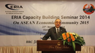 ERIA promotes Lao Capacity to engage AEC beyond 2015