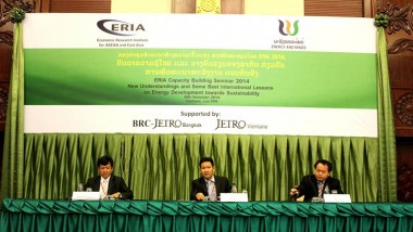 ERIA brings New Knowledge and Good Practices on Sustainable Energy Development to Lao PDR