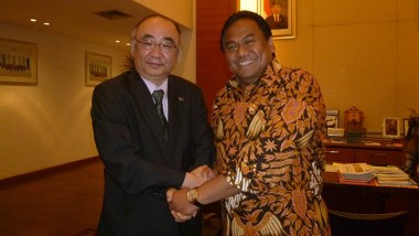Executive Director of ERIA Meets Minister of Trade, Indonesia