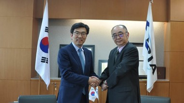 Korean Ambassador to ASEAN Visits ERIA