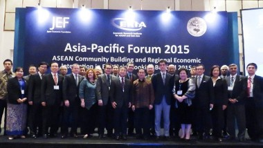 Asia-Pacific Forum: Future Landscape of East Asia Economic Integration Post-2015