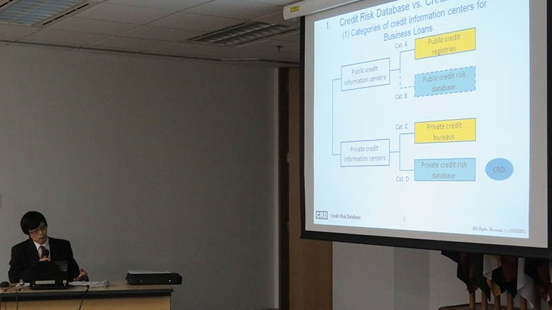 ERIA Seminar: How Credit Risk Databases Promote SMEs