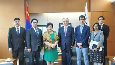 ERIA and ASEM Mongolia Office Sign MoU for Cooperation Activities