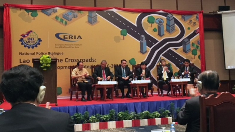 Lao PDR at the Crossroads: Industrial Development Strategies 2016-2030