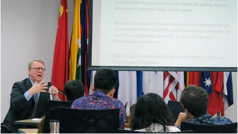 ERIA-UPH Distinguished Guest Pierre Sauve Speaks at ERIA on TTIP: Press Release from UPH