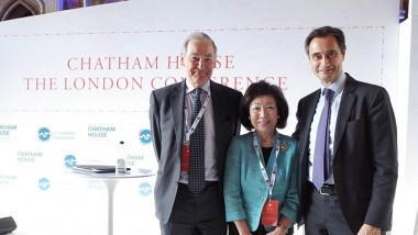 Prof Yamanaka attends Chatham House's 2016 London Conference