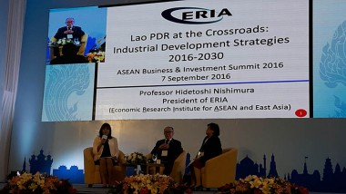 ERIA Contributes to the 28th and 29th ASEAN Summit and Related Meetings