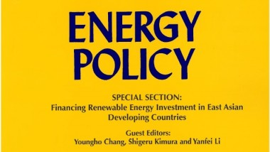 ERIA Publishes a Special Issue with the Journal of Energy Policy on Financing Renewable Energy in East Asia