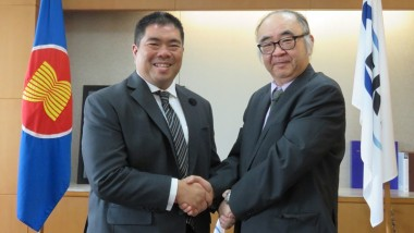ERIA President Receives Courtesy Call of Secretary General of AIPA