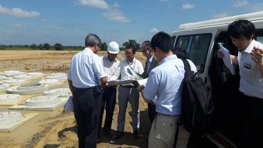 ERIA CADP Research Team Conducts Site Visits in Cambodia