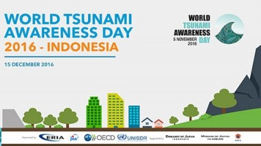 ERIA Organises World Tsunami Awareness Day 2016 in Jakarta
