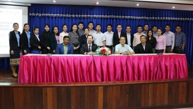Lao Government Officials Benefit from Policy Modelling