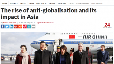 The Rise of Anti-Globalisation and its Impact in Asia