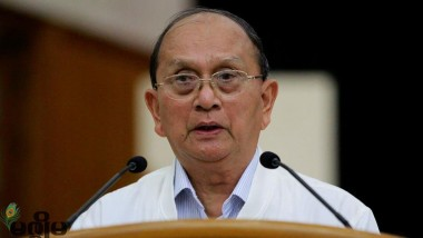 Former President Thein Sein Urges USDP to Make Enormous Effort to Win in Elections