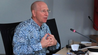 ERIA and CSIS Hold Private Discussion with Prof Richard Baldwin