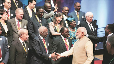 Article - To counter OBOR, India and Japan propose Asia-Africa sea corridor