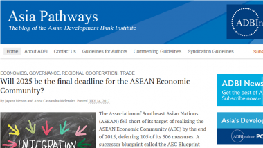 Article - Will 2025 be the final deadline for the ASEAN Economic Community?