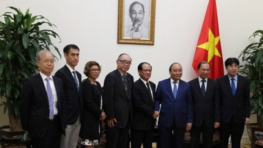ERIA Experts Discuss ASEAN Integration with Viet Nam PM and DPM