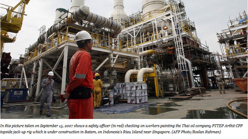 Article - Oil and gas environmental footprint in Southeast Asia