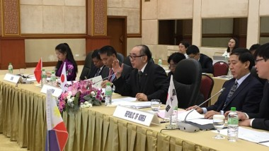 President of ERIA Attends the 18th ASEAN plus 3 Ministers of Environment Meeting