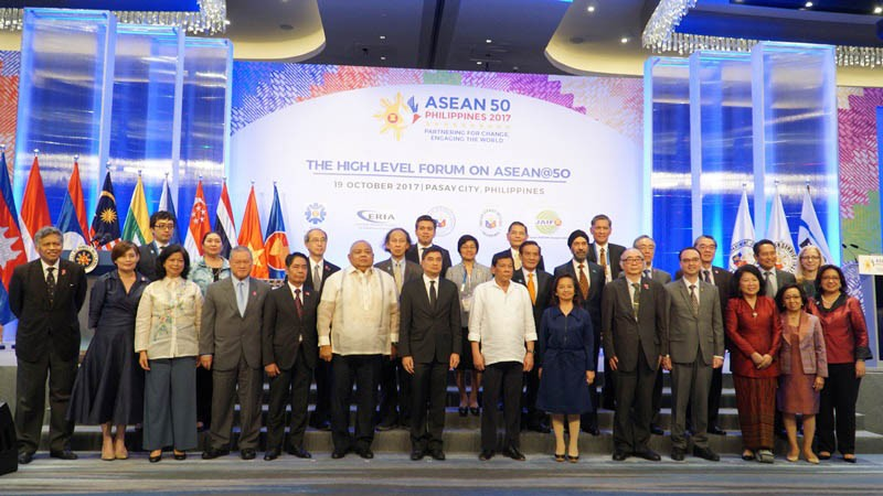 ERIA Holds the High Level Forum on ASEAN@50