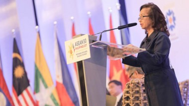 Former President Macapagal-Arroyo Highlights Social Media Role for ASEAN