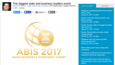 Article - The biggest state and business leaders event