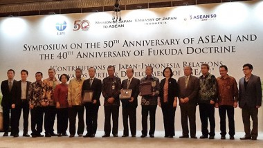 ERIA Participates in the Symposium on the 50th Anniversary of ASEAN and the 40th Anniversary of the Fukuda Doctrine