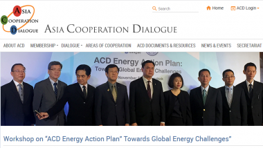 "Article - Workshop on ""ACD Energy Action Plan"" Towards Global Energy Challenges"