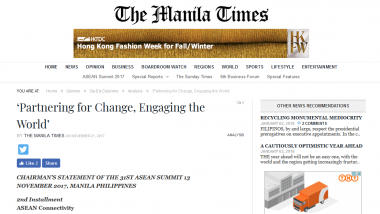 Article - 'Partnering for Change, Engaging the World'