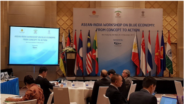 Article - 60 government officials and scholars attended ASEAN-India Workshop on Blue Economy