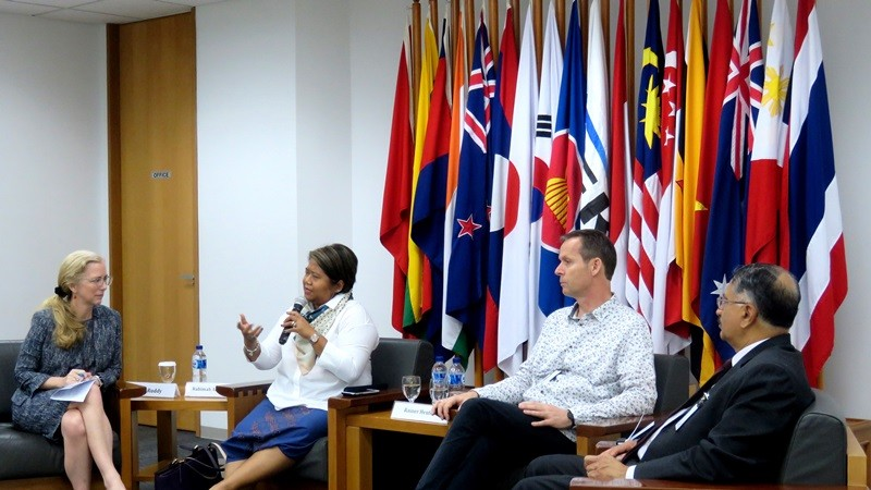 ERIA Holds 'Why Think Tank Matters' Discussion