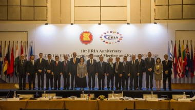 ERIA Holds the 11th Governing Board Meeting and Celebrates 10th Anniversary