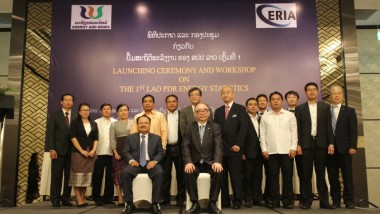Lao PDR Ministry of Energy and Mines and ERIA Launched Lao PDR National Energy Statistics 2018