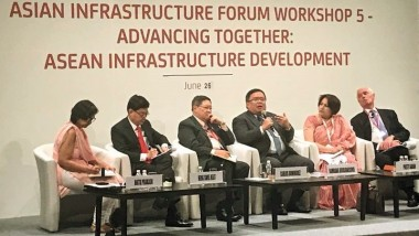 Addressing Asia's Infrastructure Gaps: ERIA Participates in AIIB's Annual Meeting