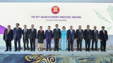 ERIA Participates in 50th ASEAN Economic Ministers' and Related Meetings