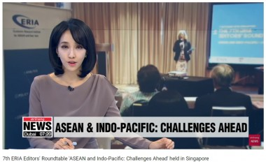 7th ERIA Editors' Roundtable 'ASEAN and Indo-Pacific: Challenges Ahead' held in Singapore