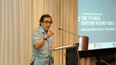 ASEAN Must 'Move Boldly' Amb Bilahari at the 7th ERIA Editors Roundtable