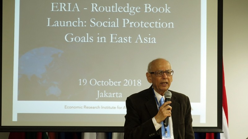 ERIA and Routledge Release New Co-Publication on Social Protection in East Asia