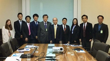 ERIA Pays Courtesy Call to Thailand's Minister of Energy