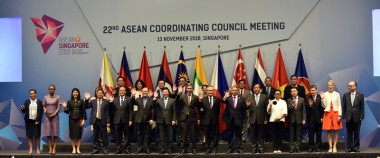 ERIA's Efforts Praised in Chairman's Statement of 33rd ASEAN Summit