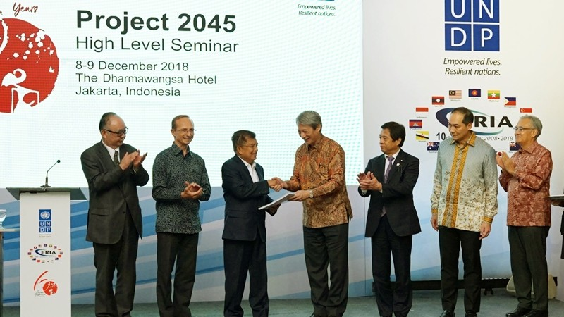 ERIA and UNDP Launch Project 2045 Final Report and Host High Level Seminar and Reception