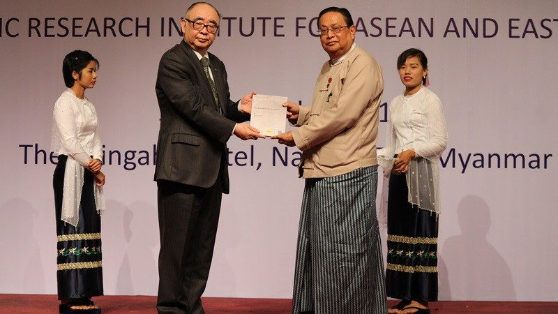 ERIA and the Ministry of Electricity and Energy of Myanmar Launched the Natural Gas Master Plan for Myanmar