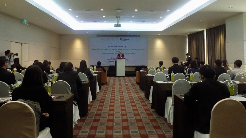 ERIA and Thailand Ministry of Energy Hold Workshop on Biomass Supply Chain