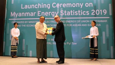 ERIA Launches Myanmar National Energy Statistics 2019